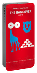 No145 My The Hangover Part 3 Minimal Movie Poster Portable Battery Charger