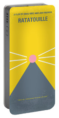No163 My Ratatouille Minimal Movie Poster  Portable Battery Charger