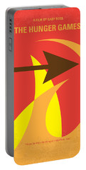 No175 My Hunger Games Minimal Movie Poster Portable Battery Charger