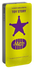 No190 My Toy Story Minimal Movie Poster Portable Battery Charger