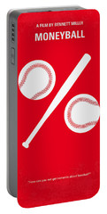 No191 My Moneyball Minimal Movie Poster Portable Battery Charger