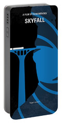 No277-007-2 My Skyfall Minimal Movie Poster Portable Battery Charger by Chungkong Art