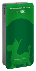 No280 My Shrek Minimal Movie Poster Portable Battery Charger