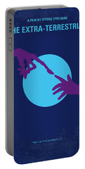 No282 My Et Minimal Movie Poster Portable Battery Charger
