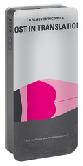 No287 My Lost In Translation Minimal Movie Poster Portable Battery Charger