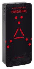 No289 My Predators Minimal Movie Poster Portable Battery Charger