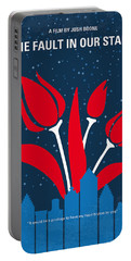 No340 My The Fault In Our Stars Minimal Movie Poster Portable Battery Charger