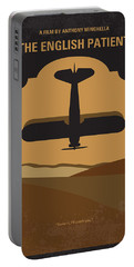 No361 My The English Patient Minimal Movie Poster Portable Battery Charger