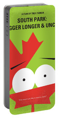 No364 My Bigger Longer Uncut Minimal Movie Poster Portable Battery Charger