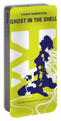 No366 My Ghost In The Shell Minimal Movie Poster Portable Battery Charger