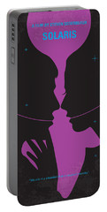 No385 My Solaris Minimal Movie Poster Portable Battery Charger