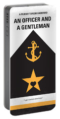 No388 My An Officer And A Gentleman Minimal Movie Poster Portable Battery Charger