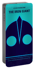 No406 My The Iron Giant Minimal Movie Poster Portable Battery Charger