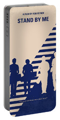 No429 My Stand By Me Minimal Movie Poster Portable Battery Charger