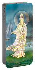 Non-dual Kuan Yin Portable Battery Charger by Lanjee Chee