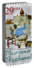 Norman Rockwell Portable Battery Charger