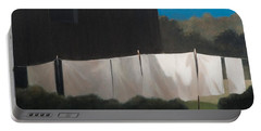 Normas Washing, 2012 Acrylic On Canvas Portable Battery Charger