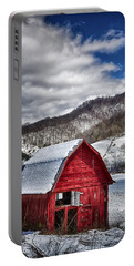 North Carolina Red Barn Portable Battery Charger