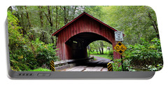 North Fork Yachats Covered Bridge Portable Battery Charger