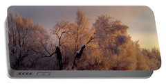 Portable Battery Charger featuring the photograph Northern Light by Jeremy Rhoades