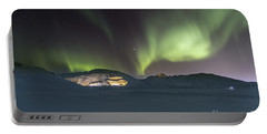 Northern Lights Iceland Portable Battery Charger
