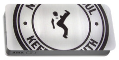Northern Soul Dancer Portable Battery Charger