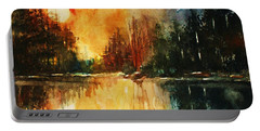 Northern Sunset Portable Battery Charger
