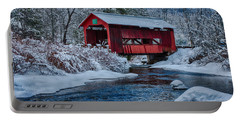 Northfield Vermont Covered Bridge Portable Battery Charger