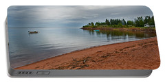 Northumberland Shore Nova Scotia Red Sand Beach Portable Battery Charger
