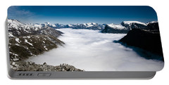 Norway In The Clouds Portable Battery Charger
