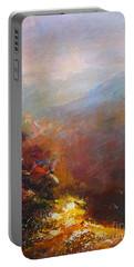 Nostalgic Autumn Portable Battery Charger