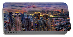 Portable Battery Charger featuring the photograph Not Hong Kong by Ron Shoshani
