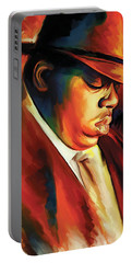 Notorious Big - Biggie Smalls Artwork Portable Battery Charger
