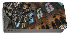 Notre Dame Interior Portable Battery Charger