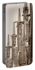Notre Dame Sentries Sepia Portable Battery Charger