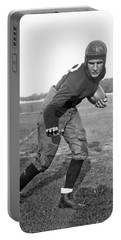 Notre Dame Star Halfback Portable Battery Charger by Underwood Archives