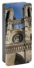 Portable Battery Charger featuring the photograph Notre Dame by Tiffany Erdman