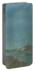 Nova Scotia Fog Portable Battery Charger by Judith Rhue