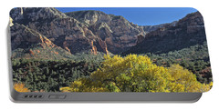 Portable Battery Charger featuring the photograph November In Sedona by Penny Meyers