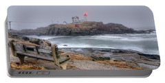 Nubble Lighthouse View Portable Battery Charger