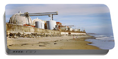 Nuclear Power Plant On The Beach, San Portable Battery Charger