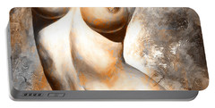 Nude Details - Digital Color Version Rust Portable Battery Charger
