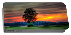 Number 4 The Landing Reynolds Plantation Art Portable Battery Charger