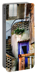 Portable Battery Charger featuring the photograph Number 7 Les Beaux France by Tom Prendergast