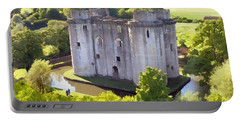 Nunney Castle Painting Portable Battery Charger