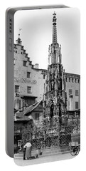 Nuremberg Beautiful Fountain Portable Battery Charger