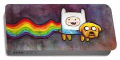 Nyan Time Portable Battery Charger