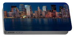 Portable Battery Charger featuring the photograph Nyc Pano by Jerry Fornarotto