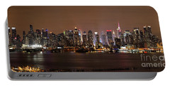 Nyc Skyline Portable Battery Charger