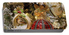 Portable Battery Charger featuring the photograph O Christmas Tree by Victoria Harrington